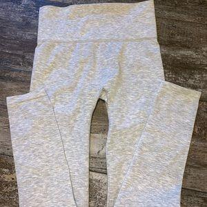 tummy tuck gray leggings